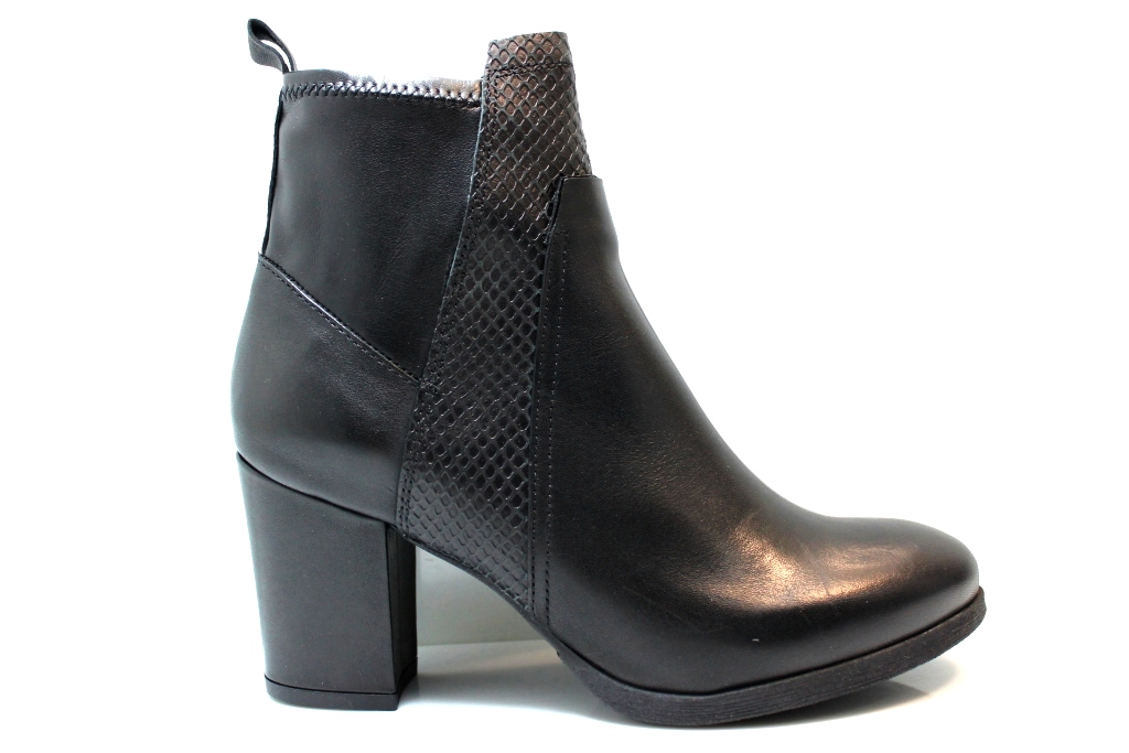 CAFeNOIR NHB114 Boots to the Ankle with Plateau Donna