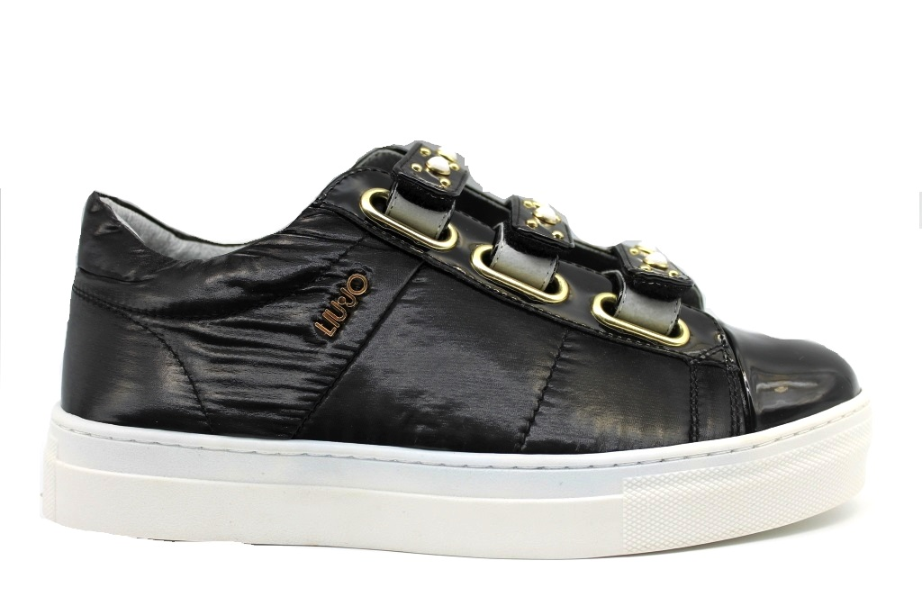 Liu Jo ALICIA T0011 469747 Black SneakersDonna Shoes Casual