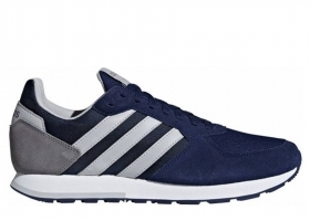 Adidas 8 K B44669 Blue Men's Shoes Sneakers Sports
