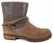 Liu Jo Girl UA20897 Boots Women's Above-the-Ankle Style Biker Italy