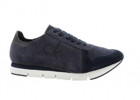 Sneakers HACHI NUBUCK S1670 Blue Sneakers Man Sport Shoe