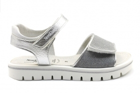 Nero Giardini Junior P830500F Silver Sandals Low Shoes Women Girl
