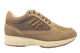 Lumberjack RAUL SM01304 Taupe Sneakers Men's Shoes Shoes
