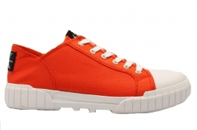Calvin Klein Jeans BIFF NYLON S0560 Orange Shoe Men's Sports Casual