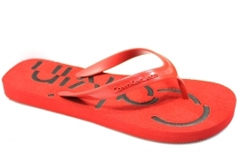 Calvin Klein Jeans flip Flops Man DABNEY JELLY S1675 Red Sea Shower