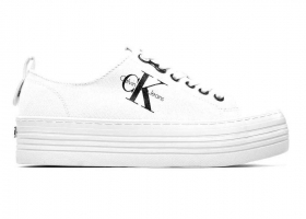 Calvin Klein Jeans ZOLAH CANVAS R0673 Bianco Scarpa Sportiva Casual