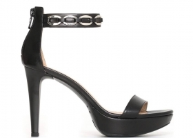Black garden P806042DE Black Footwear Sandals Elegant High Heels