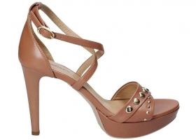 Black garden P806051DE Nude Footwear Sandals Elegant High Heels
