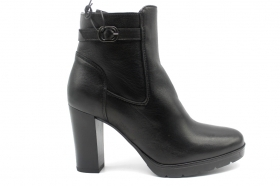 IGI and CO 2198800 Black Boots Ankle Woman With Plateau
