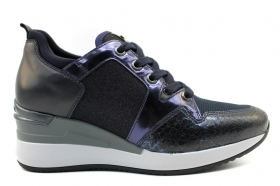 Black garden P806610D Blue Sneakers Shoes ladies Comfortable Footwear