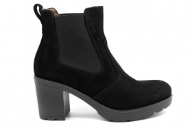 Black garden A807060D Black Boots Ankle Woman With Plateau