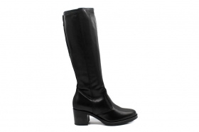 Black garden A807040D Black Knee-high Boots Woman With Plateau