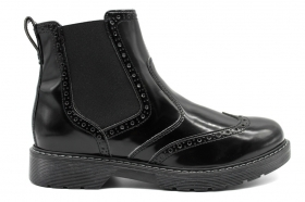 Nero Giardini Junior A833342M Black ankle boots Shoes Woman Children in the English Style