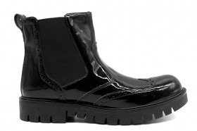 Nero Giardini Junior A830693F Black ankle boots Shoes Woman Children in the English Style