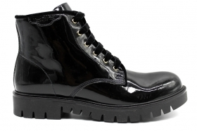 Nero Giardini Junior A830692F Black ankle boots Women Kids Style Dr. Martens