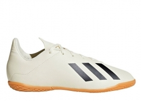 Adidas X TANGO 18.4 IN J DB2432 White Child Sports Soccer