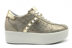 IGI e CO 3155844 Taupe Sneakers Scarpe Donna Calzature Casual
