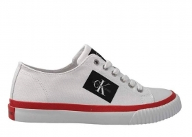 Calvin Klein Jeans IZICEIO CANVAS S1731 White Shoe, Men's Sports