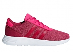 Adidas LITE RACER K B75701 Rosa Scarpe Donna Bambini Sneakers Sportive Running