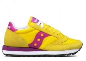 Saucony Jazz S1044 364 Giallo Sneakers Donna Bambini Scarpa Casual Sportiva