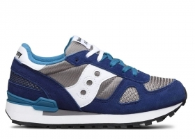 Saucony Shadow SK260986 Blu Sneakers Donna Bambini Scarpa Casual Sportiva