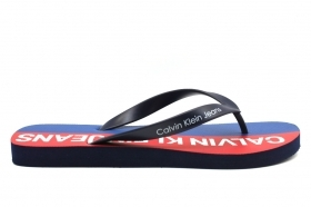 Calvin Klein Jeans ERROL JELLY S0604 Blue flip Flops Man the Sea Shower