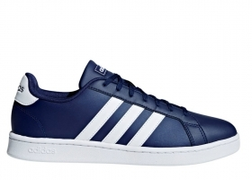 Adidas GRAND COURT F36404 Blue Men's Shoes Sneakers Sports