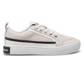 Calvin Klein Jeans DODIE SUEDE R8525 Bianco Scarpa Sportiva Casual