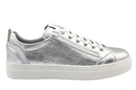 Nero Giardini Junior P930930F Silver Sneakers Women Girl Casual