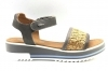IGI and CO 3191811 Grey Shoes Comfortable flat Sandals Woman