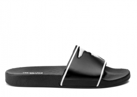 Trussardi Jeans 77A00159 Black Slippers Man the Sea Shower