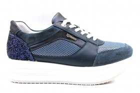 IGI e CO 3160700 Blu Sneakers Scarpe Donna Calzature Casual