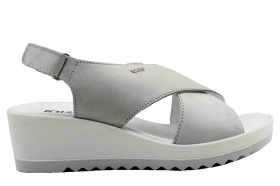 IGI and CO 3172100 Pearl Gray Shoes Comfortable Wedge Sandals Women's