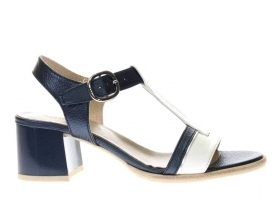 Black garden P908200D White Blue Footwear Sandals Low Heel
