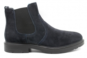 IGIeCO 4100344 Blue Ankle Boots Men's Shoes Shoes Casual