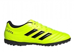 Adidas COPA 19.4 TF F35483 Yellow Sneakers Man Sports Shoes Soccer