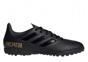 Adidas PREDATOR 19.4 TF F35635 Black Men Sports Shoes Soccer