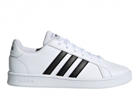 Adidas GRAND COURT K EF0103 White Shoes Children Sneakers Sports