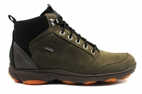 Geox NEBULA U942VA 00032 Coffee Sneakers Bootie Man Shoes Casual