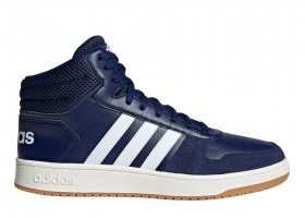 Adidas HOOPS 2.0 MID EE7384 Blue mens trainers Sports