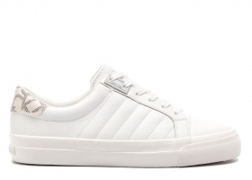 Calvin Klein VANCE LOW TOP LACE UP E4455 White Sports Shoe Casual