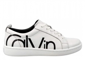 Calvin Klein DANYA COW SILK E4835 White Sports Shoe Casual