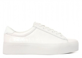 Calvin Klein JANIKA LOW TOP LACE UP B4E6291 White nScarpa Sports Casual