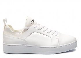 Calvin Klein NORIO 2 NAPPA SMOOTH F1330 White Sports Shoe Casual