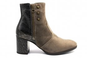 Black garden A908730D Taupe Boots Ankle Women's