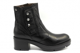 Black garden A909620D Black Boots Above the Ankle Women