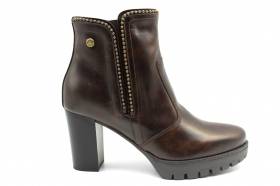 Black garden A909670D Moro Boots Above the Ankle Woman With Plateau