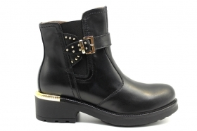 Black garden A909760D Black Boots Above the Ankle Women