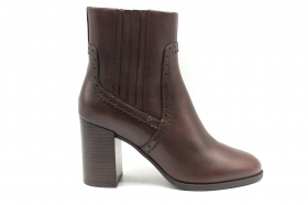 GEOX WHICH D94F0D Brown Boots Ankle Women's