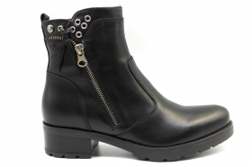 Black garden A909650D Black Boots Above the Ankle Women
